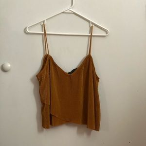 Kendall and Kylie collection. Mustard top.